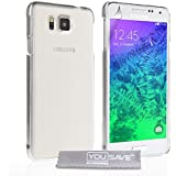 Yousave Accessories SA-EA03-Z961 Coque pour Samsung Galaxy Alpha Transparent