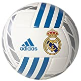 adidas Herren FBL Real Madrid Ball 5 White/Blanco/Azuint/Plamet