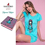 Pijama Gorjuss Pretty Adulto
