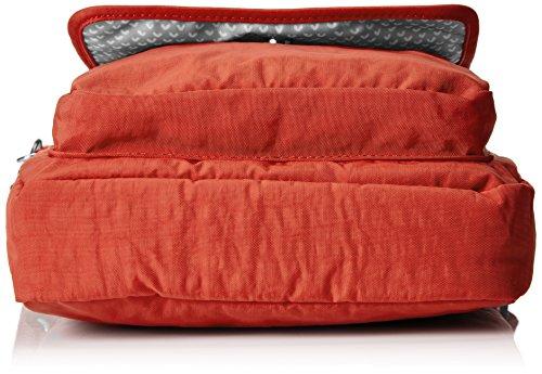 Kipling Netta, Sacs Bandoulière Femmes, 23.5x29x9 cm Rouge (78G Red Rust)