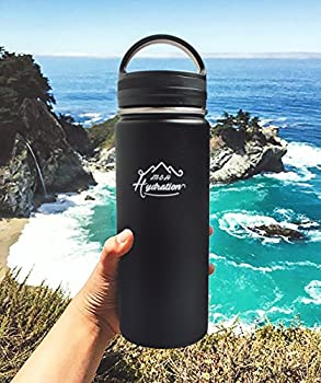 Stainless Steel Water Bottle - Thermo Flask Water Bottle - Hydration Bottle Eco Friendly - M&h Hydration Leak-proof,   Bpa-free Stainless Steel   Reusable Water Bottle   Double Walled Vacuum Insulated   Sistema - Keeps Drinks Cold For 18+ Hrs, Hot For 8 - Hiking, Running, Outdoors Water Bottle (32oz - 909ml) 5