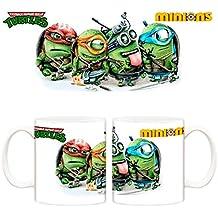 Taza Minions Tortugas Ninja