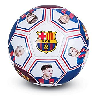 Club Licensed Barcelona Photo Signature Ball (Size 5) - One Size