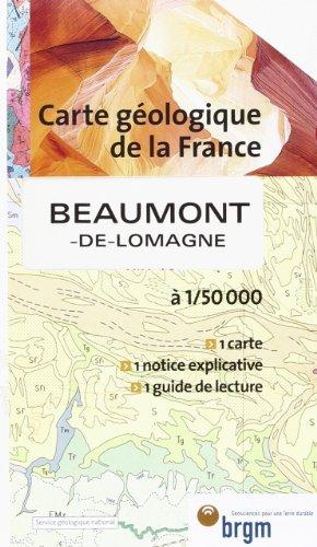 Carte géologique : Beaumont-de-Lomagne