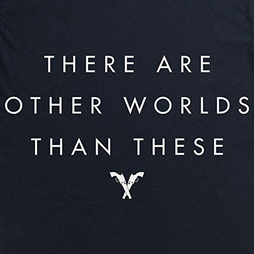 Official The Dark Tower Other Worlds T-Shirt, Herren Schwarz
