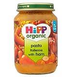 Hipp Bio-Nudeln Mit Schinken Italienne 7+ Monate 190G - Packung mit 2