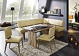 Naturnah Möbel Eckbankgruppe