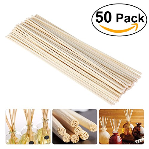 nuolux-50pcs-wood-oil-diffuser-replacement-rattan-reed-sticks