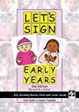 Let's Sign Early Years, BSL Building Blocks Child & Carer Guide