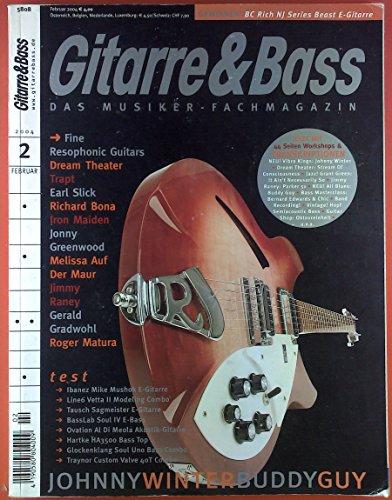 Gitarre & Bass. Das Musiker-Fachmagazin. 2, Februar 2004. Test: Ibanez Mike Mushok E-Gitarre; Line6 Vetta II Modeling Combo; Tausch Sagmeister E-Gitarre; ect.