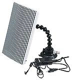 KS Tools 140.2598 Dellenspiegel mit Licht