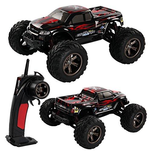 2,4Ghz R/C ferngesteuertes Fahrzeug Offroader Buggy 1:12 Monster Truck 40 km/h rot