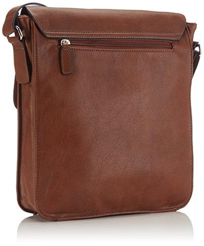 Gerry Weber - Td Flap Bag L, Borsa A Tracolla da donna Marrone (cognac 703)