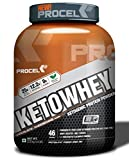 PROCEL KETOWHEY Keto Whey Isolate Protein Powder with Ketofuel - 2kg (Chocolate Cheesecake)
