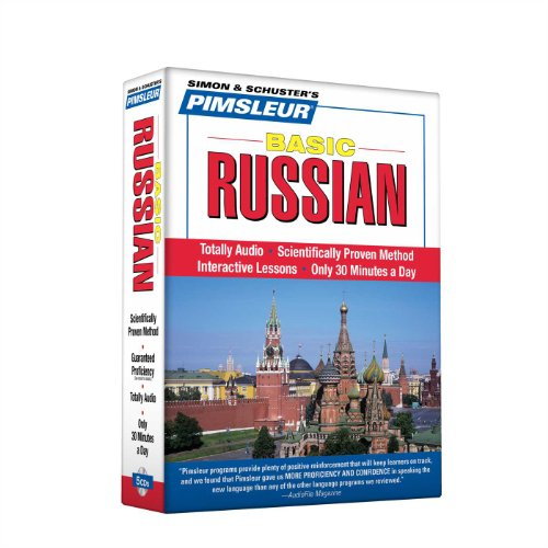 Pimsleur Russian Basic Course - Level 1 Lessons 1-10 CD: Learn to Speak and Understand Russian with...