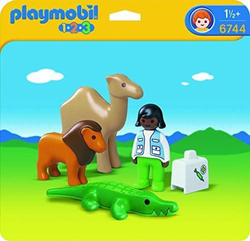 Playmobil Playmobil Playmobil - 6744 - 1.2.3 - Veterinaire  Animaux sauvages   De Biens De Toutes Sortes Sont Disponibles  ae2ab3