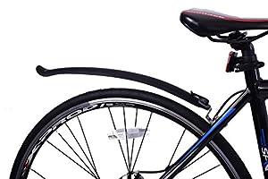 Pair Clip On Clip Off Bike Mudguards Suit Road Bikes, Racers, Folders, Hybrids Etc