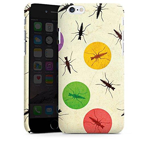 Apple iPhone X Silikon Hülle Case Schutzhülle Mücke Käfer Punkte Premium Case matt