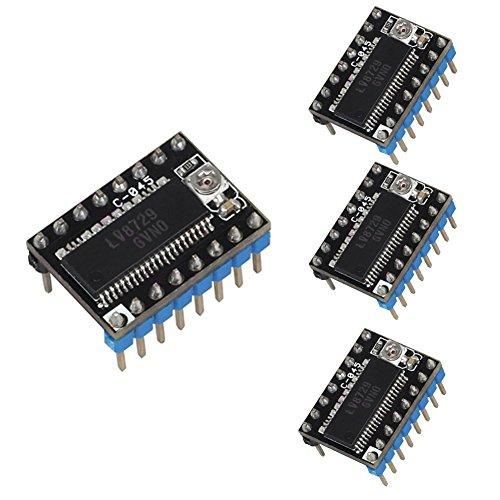 zreal 4Stück/set Driver des Schrittmotor lv8729Treiber PCB 4Lagen Modul Driver Ultra leisen Zubehör für 3d-Drucker