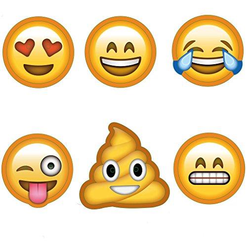 KIMILAR-6-Pack-Emoji-partie-masques-drles-Photo-Booth-accessoires-pour-Photo-anniversaires-de-mariage-Party-retrouvailles-stand-Dguisements-accessoires