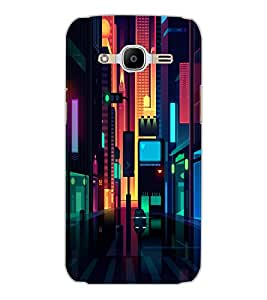 SAMSUNG GALAXY J2 2016 CITY VIEW Back Cover by PRINTSWAG