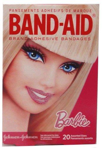 boite-de-20-pansements-steriles-assortis-barbie