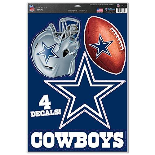 Offizieller NFL Dallas Cowboys Aufkleber Multi-Use (Dallas Cowboys Aufkleber)