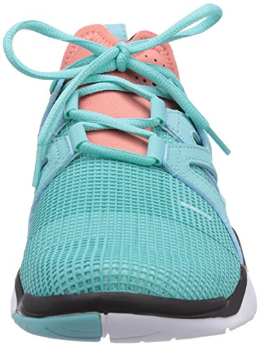 Reebok Zcut Tr, Chaussures de fitness femme Turquoise - Türkis (Crystal Blue/Coral/Black/White)
