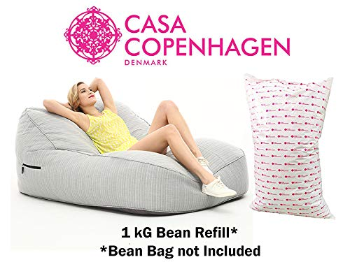 Casa Copenhagen UltimaX Beans 1 Kg A-Grade Bean Bag Refill/Filler