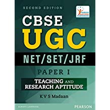 CBSE UGC NET / SET/ JRF Paper I: Teaching and Research Aptitude, 2/e