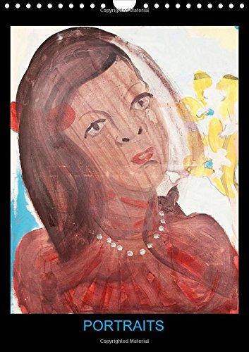 Portraits 2015: Peintures acryliques de Hanna Schwingenheuer par Hanna Schwingenheuer