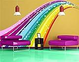 Wall Decal No.620 Rainbow 115x68cm, Dimensions:68cm x 115cm