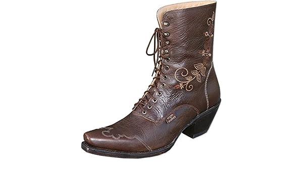STARSSTRIPES Western Boots » Marron Rosi « de bf7mI6yYvg