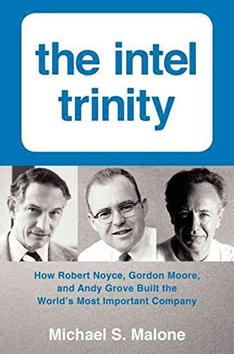 [The Intel Trinity: How Robert Noyce, Gordon Moore, and Andy Grove Built the World's Most Important Company] (By: Michael S. Malone) [published: August, 2014]