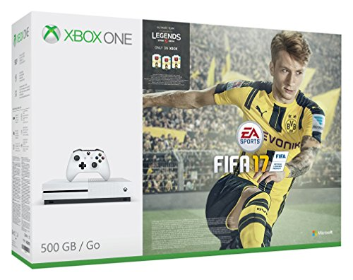 Compare Xbox One S FIFA 17 Console Bundle (500GB) prices