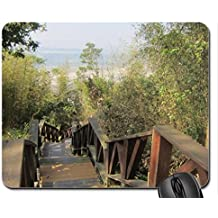 Downhill Mouse Pad, Mousepad (Mountains Mouse Pad)