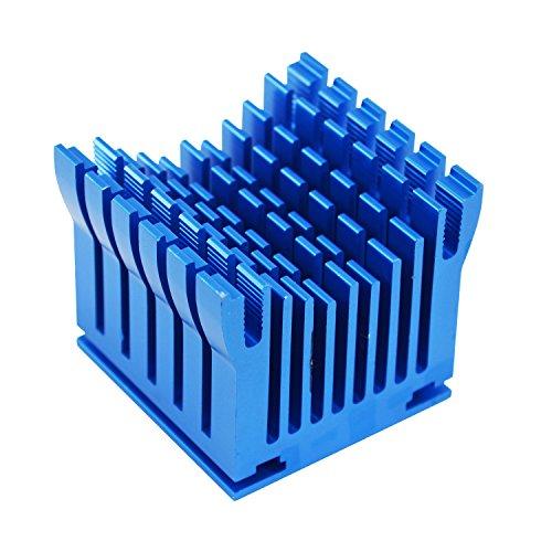 AAB Cooling NB Cooler 1 - Kühlkörper auf Aluminium für Northbridge Kühlung | Mini Passiv Kühler | Heatsink | Cooler | Alu VGA Kühler | Montage für der 40mm Lüfter (Northbridge-kühler)