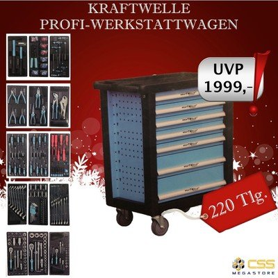 kraftwelle werkstattwagen best ckt. Black Bedroom Furniture Sets. Home Design Ideas