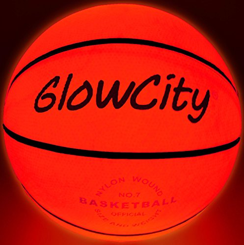 Light Up basketball-uses dos de alta brillante LED de (tamaño oficial y peso)