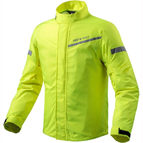 REV'IT! CYCLONE 2 H2O Motorrad Regenjacke - neon gelb Größe 2XL