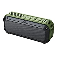 AUKEY SK-M8 Bluetooth Outdoor Wireless Speaker with 16 Hours Playtime - Green/Black
