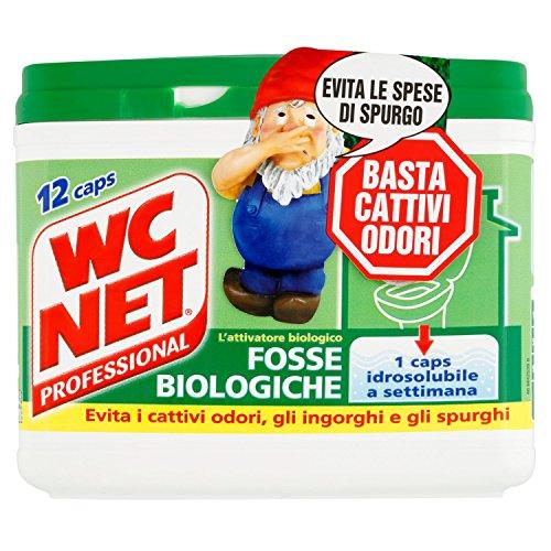 WC Net Fosse Biologiche, l\'Attivatore Biologico - 12 Capsule