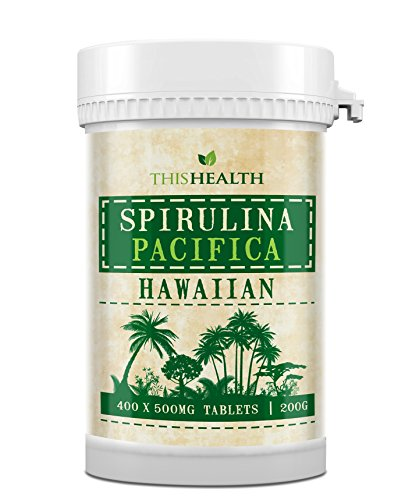400 Spirulina Tabletten (200g). Hawaiianische Spirulina Pacifica
