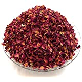 100gramos de secadora pétalos de rosa de color rojo oscuro (más grande pétalos) Real flor Confeti De Boda/fragancia para el hogar/Manualidades por Calmantes Ideas