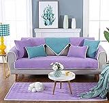 HUANZI Sofa deckt Plüsch Farben Solide Schutzhülle weiche Sofa Decke Sofa inkl. Möbel-Haus, 1