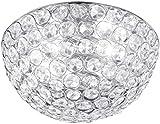 Honsel Leuchten 25062 Deckenleuchte chrom Glasprismen klar