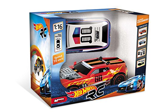 ferngesteuerte hot wheels Mondo Motors 63256 - Hot Wheels - RC Interchangeable Bodies 1:16