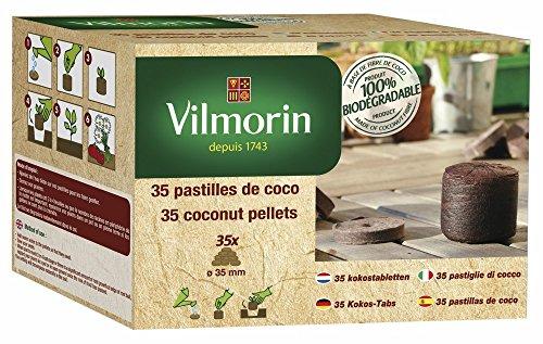 Vilmorin 3990618 Kit de 35 Pastilles Tout-en-Un 35 mm
