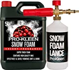 Pro-Kleen Snow Foam Lance for Use with Nilfisk Pressure Washers Includes 5 Litres Cherry Snow Foam