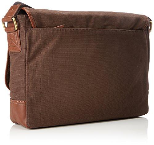 Herren Messenger Fossil Tasche Uomo Herren Brown Fossil Marrone Tasche Graham RPnTnq5x4w